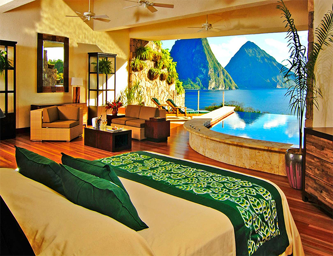 Ladera Hotel, Soufriere, St. Lucia