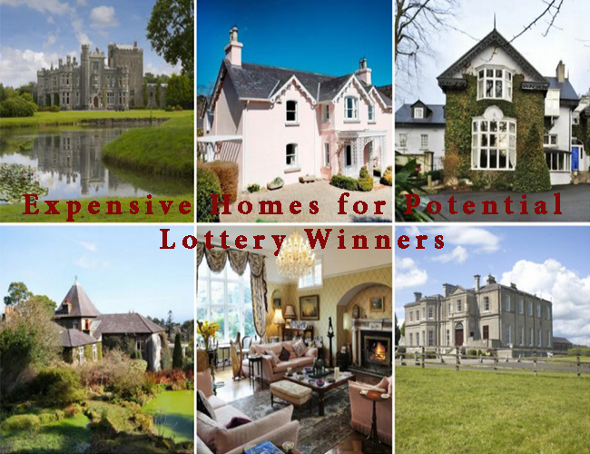 Expensive Homes for Potential Lottery Winners