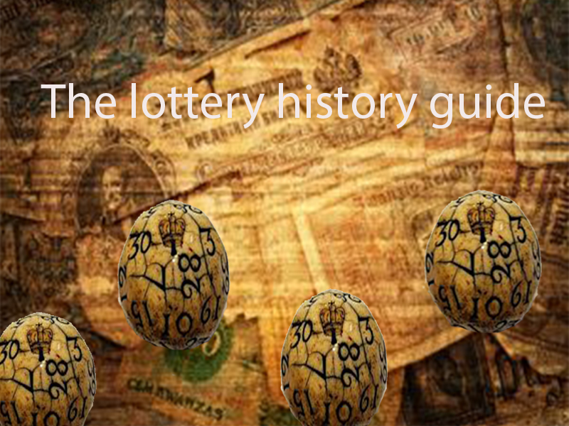 The lottery history guide