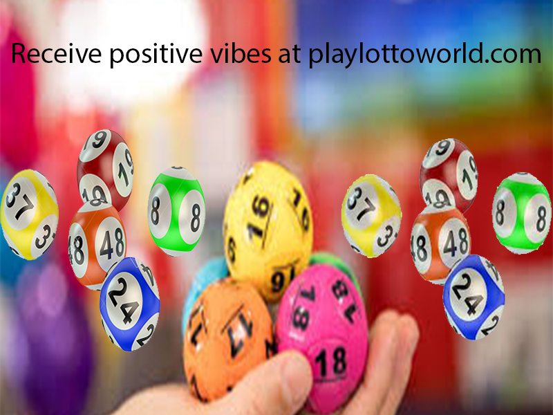 Receive positive vibes at playlottoworld.com