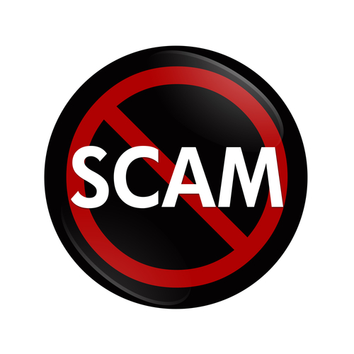 Don't fall easily for a lottery scam